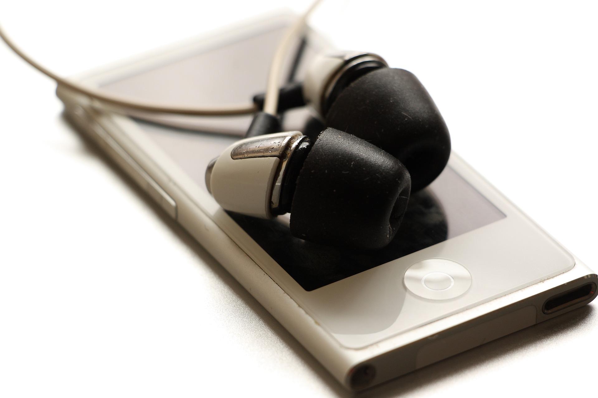 音声機器とイヤホン